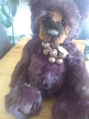 leonard charlie bear looks likE new tags on