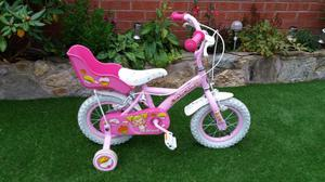 little girls bike with stabilizers