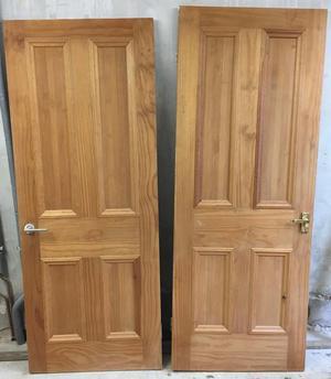 2 good wood interior doors