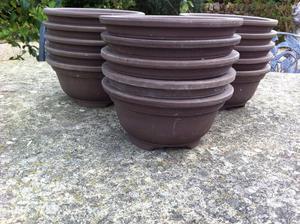 6 inch Stoneware pots