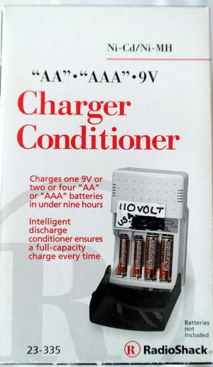 AA & AAA & 9V Battery charger (bought for Florida holiday)