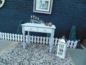 ABSOLUTELY STUNNING SOLID PINE FARMHOUSE CONSOLE TABLE