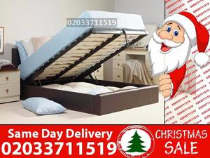 Amazing Offers 60%OFF BRAND NEW DOUBLE LEATHER STORAGE BED Available with Mattress Olathe