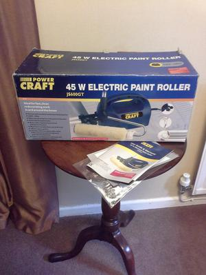 Electric paint roller