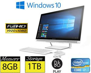 "HP 24-b277na 24"" FHD IPS Quad Core iT 8GB RAM 1TB HD"
