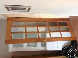 Interior Solid Wood Glazed Doors