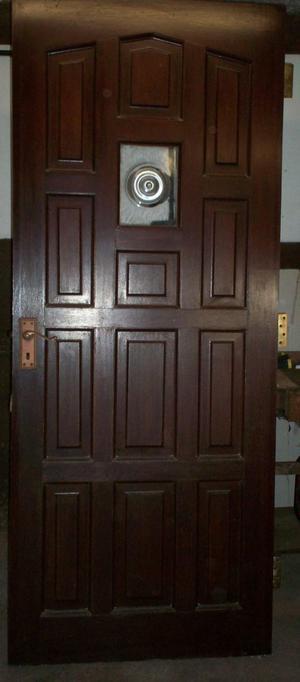 MahoganyExterior Door