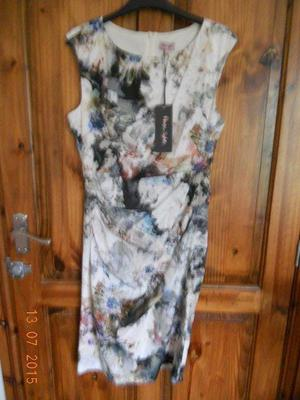 NWT PHASE EIGHT CLEMMIE PRINT DRESS 12