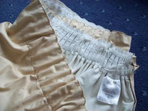 Next Beige Cream Curtains Extra Wide Great Condition