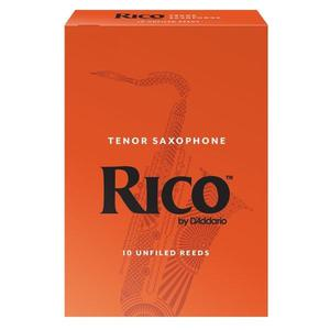 Rico By D'Addario Unfiled Tenor Saxophone Reeds - Box Of 10