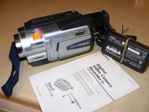 Sony DCR-TRV130E Digital 8 Camcorder, Sony 8mm Video Camera