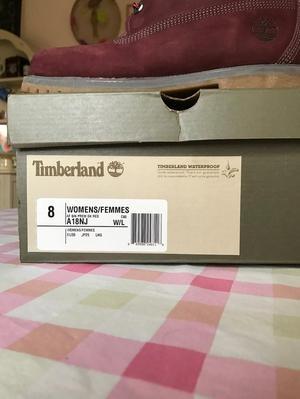 "Timberland 6"" Premium Boot Size 6"