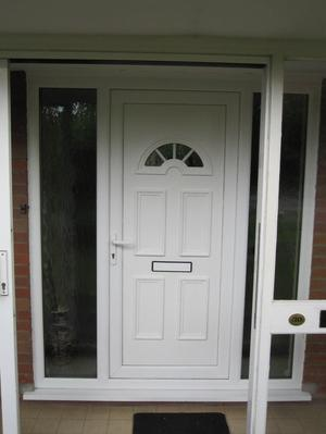 Composite upvc door and frame posot class for Upvc door frame