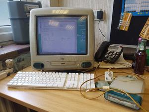 Vintage Apple MACINTOSH IMac FULLY WORKING