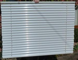 White Aluminium Venetian Blinds