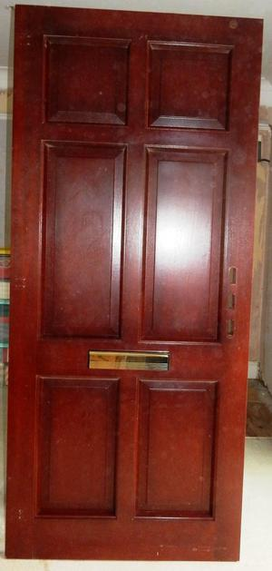 everest hardwood door