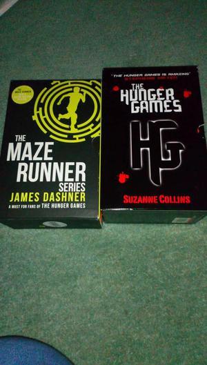 2 x Box set of 3 books