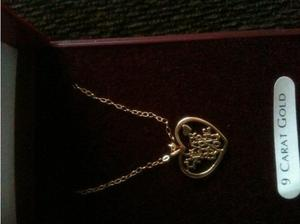 9CT GOLD NECKLACE FOR SALE - BRAND NEW / BOXED / NEVER WORN