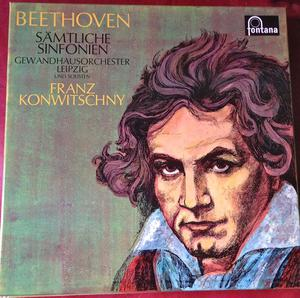 BOXED SET OF BEETHOVEN'S 9 SYMPHONIES