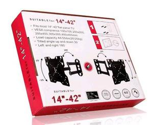 Brandnew TV Bracket Tilt Swivel LCD Wall Mount comes with 0.75m HDMI CABEL.
