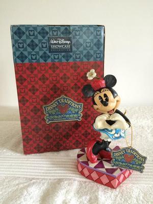 "Disney Traditions Minnie Mouse ""I Heart You"" Figurine"