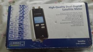 Duel satellite digital meter