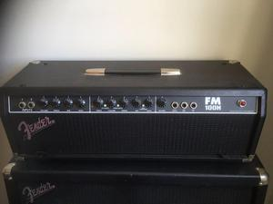 Fender FM 100H Guitar Amp Head and 4xW Cabinet