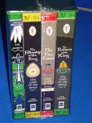 LORD OF THE RINGS BOOK SET BRAND NEW SEALED