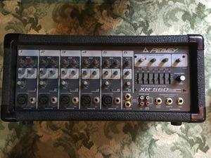 Peavey XR560 powered mixer