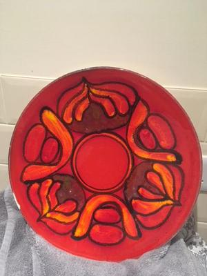 Poole Pottery Charger Plate