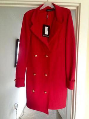 Red blazer dress size 10 bnwt