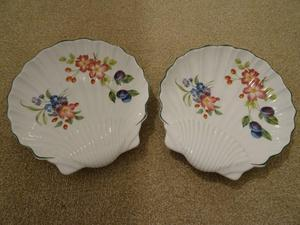 Royal Worcester Shell Dishes