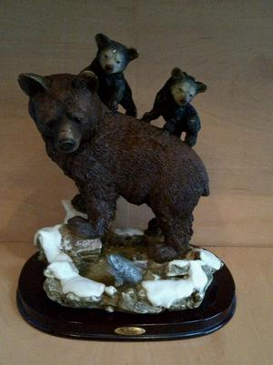 The Juliana Collection Hand Made Resin Sculpture of Bear Cub