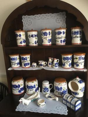 Vintage Toni Raymond Brown Sugar jar Medium