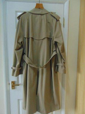 Vintage mens Burberry Trench Coat
