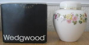 Wedgwood Mirabelle Ginger Jar, excellent condition, boxed