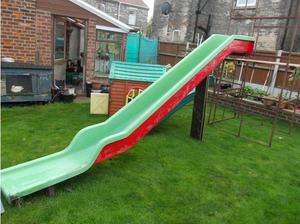 childrens slide and quickfit scaffold in Great Yarmouth
