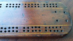 crib cribbage board antique or vintage