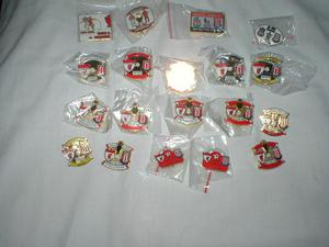19 stoke v liverpool enamel match badges
