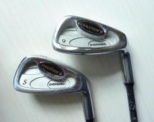 2 x Oversized Donnay golf clubs - Graphite Evolution II - 5