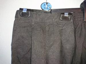 4 pairs of boys grey school trousers age 3 - 7
