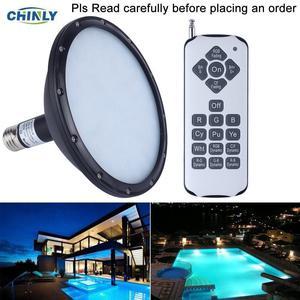 AC120V EW RGB Swimming LED Pool Lights underwater light