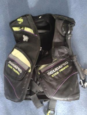 AS NEW Scuba diving ladies Scubapro Propac stab jacket BCD