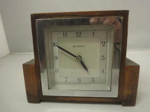 Art Deco John D Francis clock work Mantle CLOCK s workin