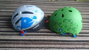 Baby and toddler bike helmets