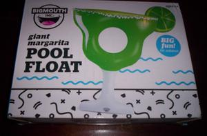 Bigmouth Inc Giant Margarita Pool Float 73''x63''x13'' Lake