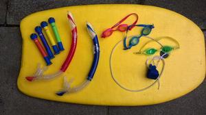 Body / Surf Board + swimming accessories