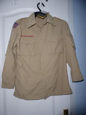 Boy scouts of America boys scout shirt new with tags.