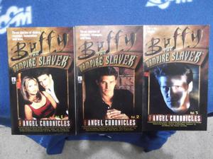Buffy The Vampire Slayer paperbacks - The Angel Chronicles