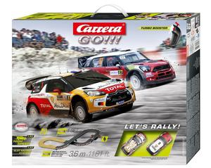 Carrera Go !!! Lets Rally! Item#